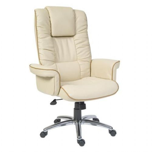 Burnham Heavy Duty Executive Office Chair 23.5 Stone